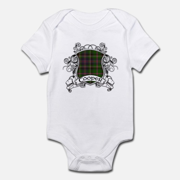 Cooper Tartan Shield Infant Bodysuit