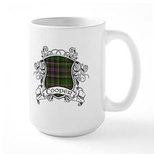 Cooper Tartan Shield Mug