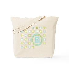 """Monogrammed """"B"""" Tote Bag"""