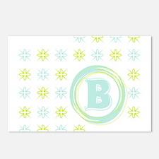 """Monogrammed """"B"""" Postcards (Package of 8)"""