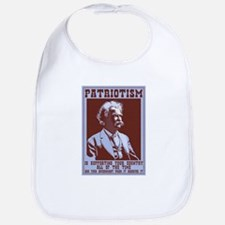 Twain - Patriotism Cotton Baby Bib