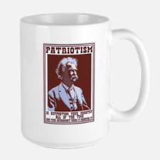 Twain - Patriotism Mug