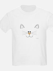 Cute Kitty Face T-Shirt