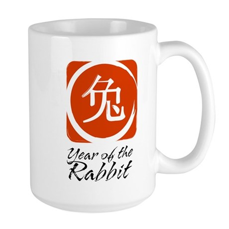 Year of the Rabbit Large Mug