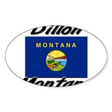 Dillon Montana Oval Decal