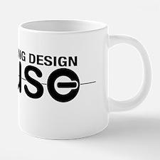 Curling Designs House logo. 20 oz Ceramic Mega Mug