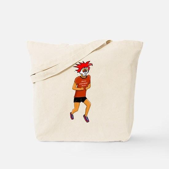 Run Zombie Run Tote Bag