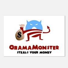 Steals Your Money Postcards (Package of 8)