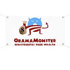 Redistributes Wealth Banner