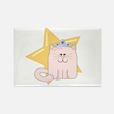 Princess Kitty Rectangle Magnet