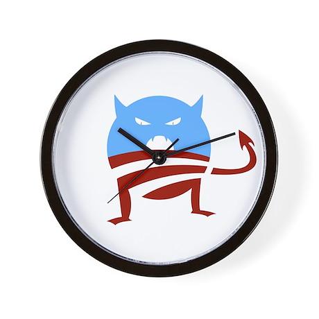 ObamaMonster Wall Clock
