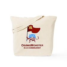 Communist Obama Monster Tote Bag
