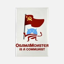 Communist Obama Monster Rectangle Magnet
