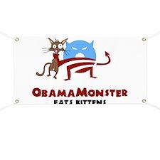 Obama Monster Kittens Banner