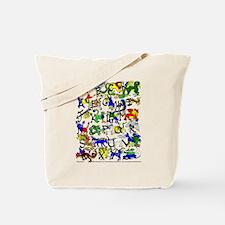 Alphabestiary III Tote Bag