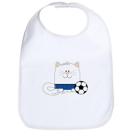 Soccer Kitty Bib