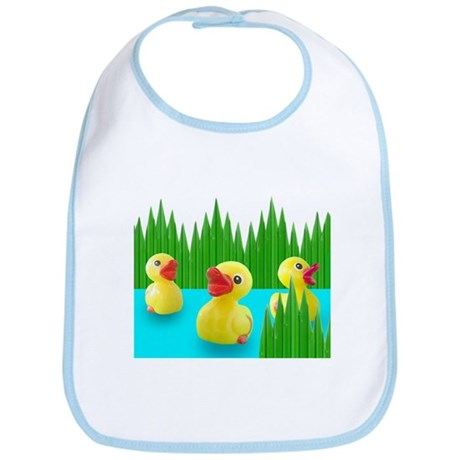 Ducks in Sushi Grass Bib