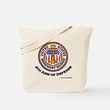 4th Arm of Defense Tote Bag