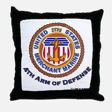 4th Arm of Defense Throw Pillow
