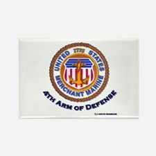 4th Arm of Defense Rectangle Magnet