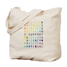 Cute Support equal rights Tote Bag