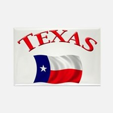 Texas State Flag Rectangle Magnet