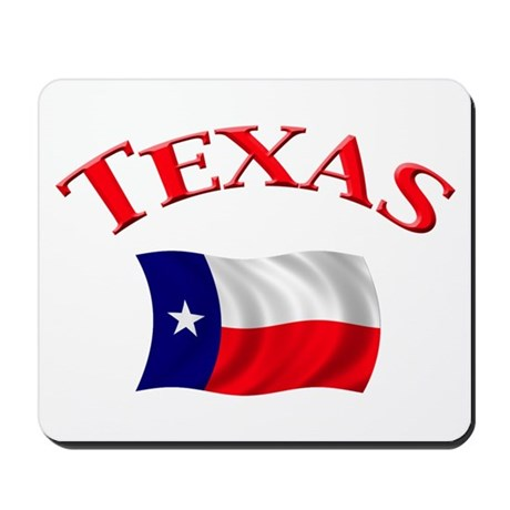 Texas State Flag Mousepad