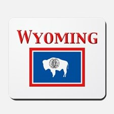 Wyoming State Flag Mousepad