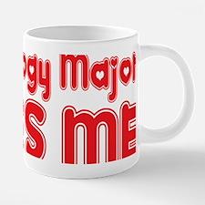 Cute Psychology majors 20 oz Ceramic Mega Mug