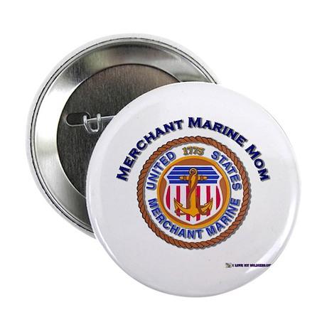 "Merchant marine Mom 2.25"" Button (100 pack)"
