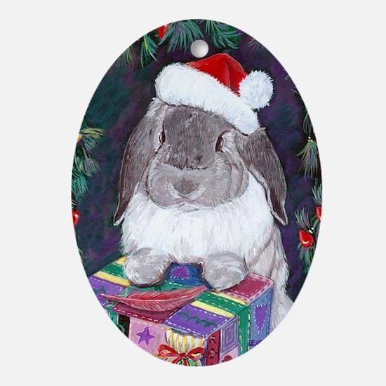 Myrrh Christmas Oval Ornament
