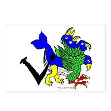 V is for Vasa Mortis Postcards (Package of 8)