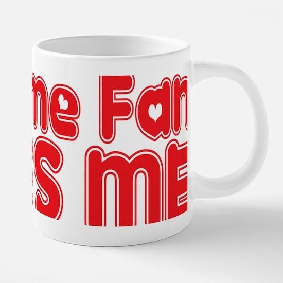 abc119 An Anime Fan.png 20 oz Ceramic Mega Mug