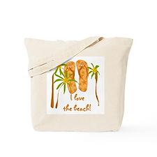 Flip Flops Beach Tote Bag
