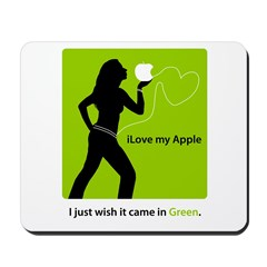 Green my Apple Mousepad
