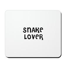 SNAKE LOVER Mousepad