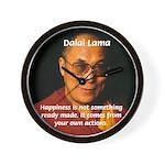 The Dalai Lama Wall Clock