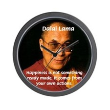 The Dalai Lama Wall Clock