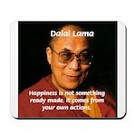 The Dalai Lama Mousepad