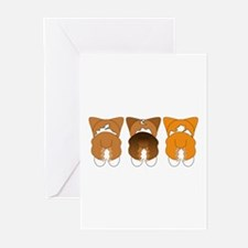 Mix Pembroke Greeting Cards (Pk of 10)