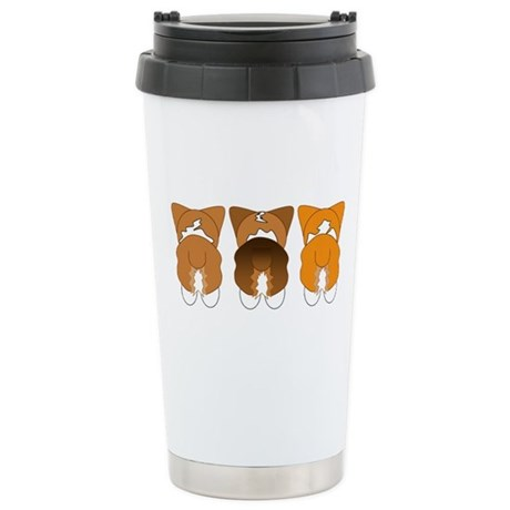 Mix Pembroke Stainless Steel Travel Mug