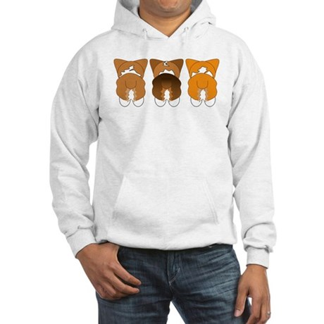 Mix Pembroke Hooded Sweatshirt