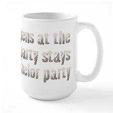 At the Bachelor Party Mug