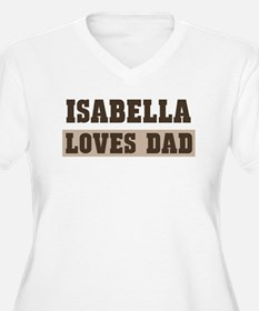 Isabella loves dad T-Shirt