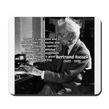 Philosophy Bertrand Russell Mousepad