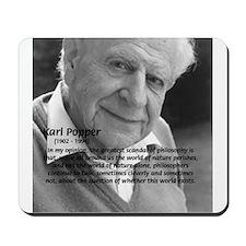 Open Society: Karl Popper Mousepad