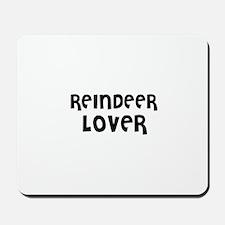 REINDEER LOVER Mousepad