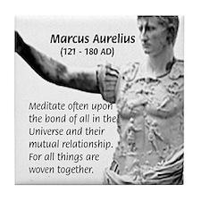 Universe: Marcus Aurelius Tile Coaster