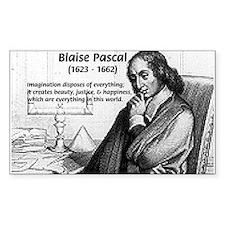 Mathematics: Blaise Pascal Rectangle Decal