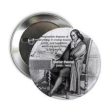 Mathematics: Blaise Pascal Button